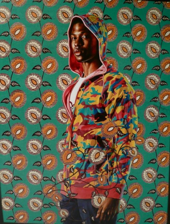 Kehinde Wiley, can't wait to see his work in 30 Americans