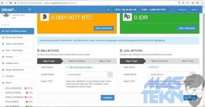 Rekeningku.com - Jual Beli Bitcoin dan Crypto