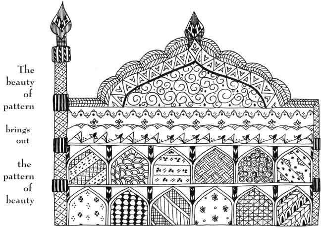 coloring pages islamic patterns images - photo#28