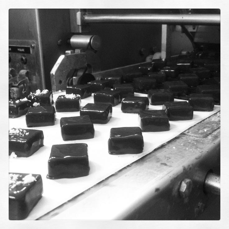 elaboración bombones