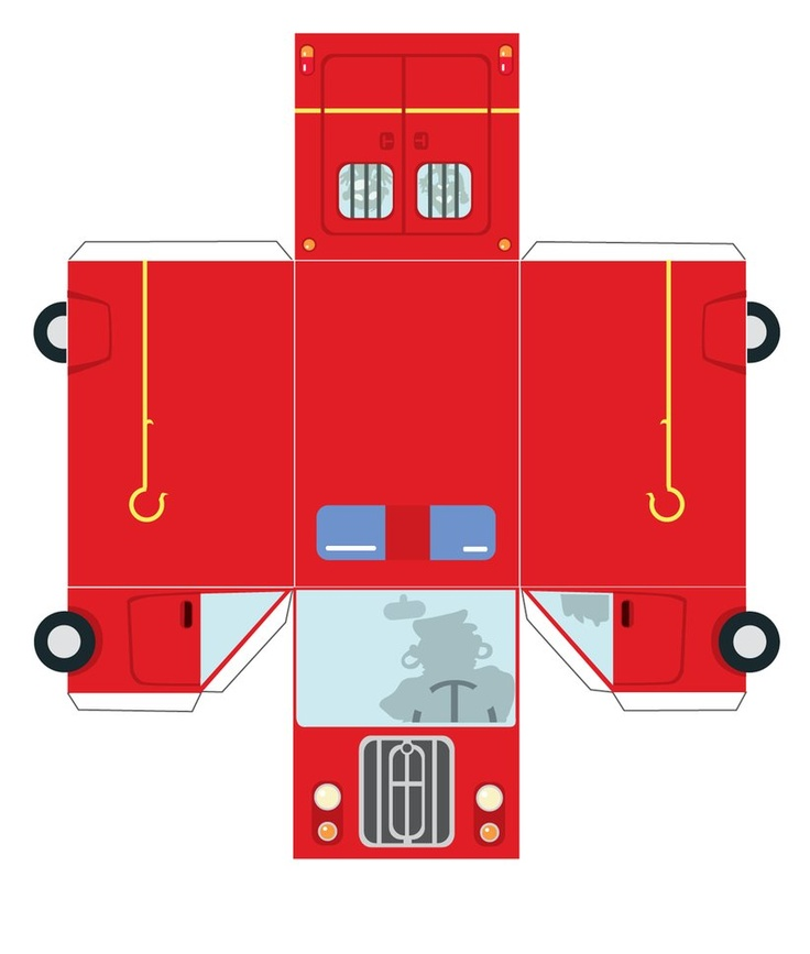 Image Detail For -More Papercraft Car Red Ferrari Model F