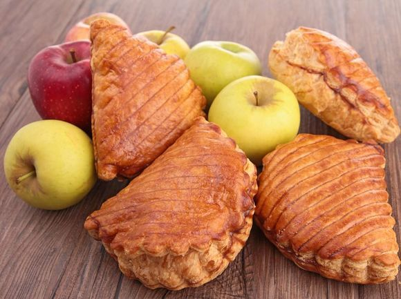 Apple Walnut Gorgonzola Turnovers
