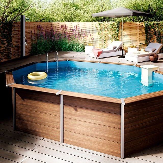 M s de 25 ideas incre bles sobre piscinas de plastico en for Piscina plastico rectangular