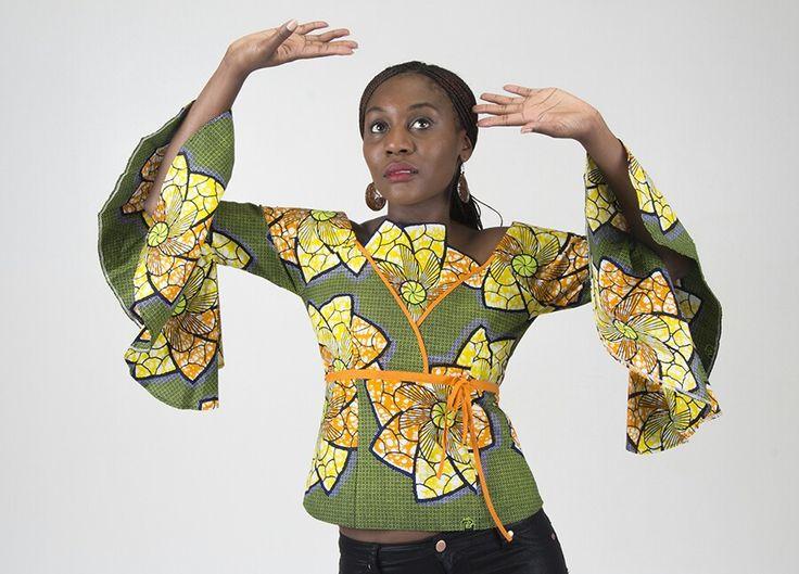 African Inspired Top www.zaharadesignz.com.au