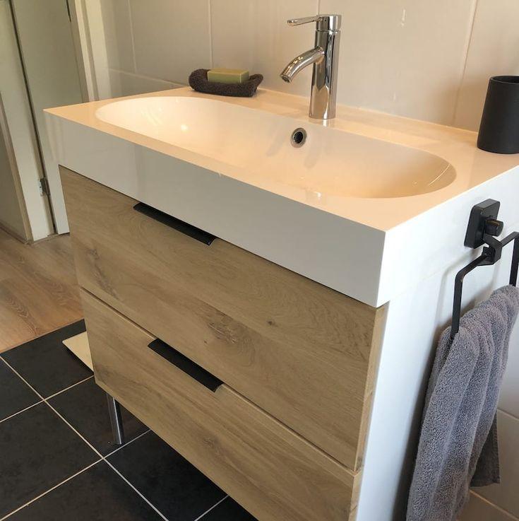 Badkamermeubels   Ikea badezimmerschrank, Badezimmerschrank holz, Ikea godmorgon