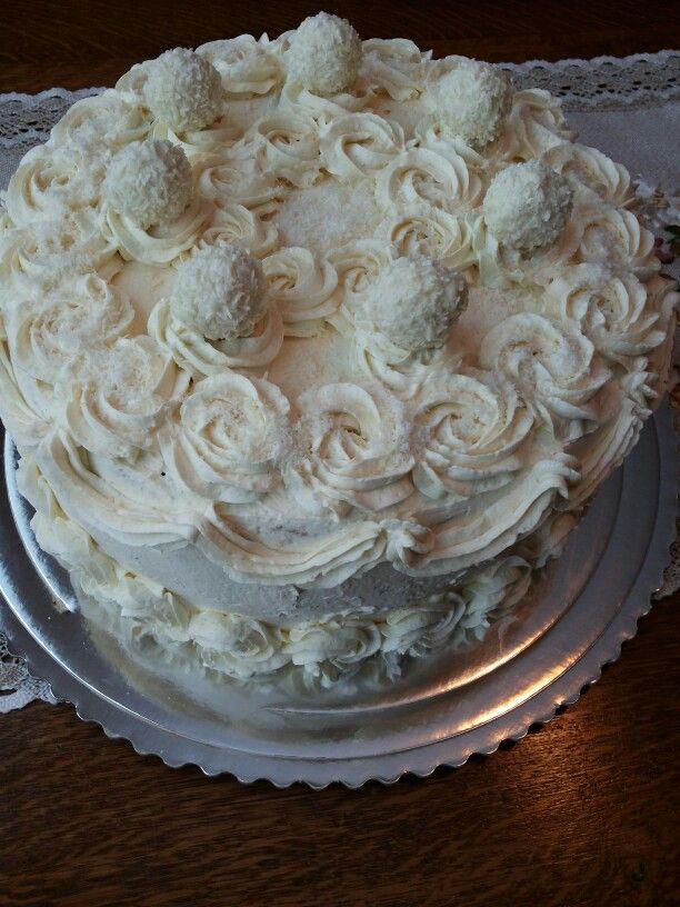 Coconut birthday cake