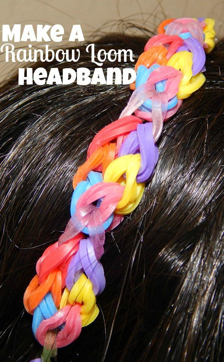 How To Make A Rainbow Loom Headband