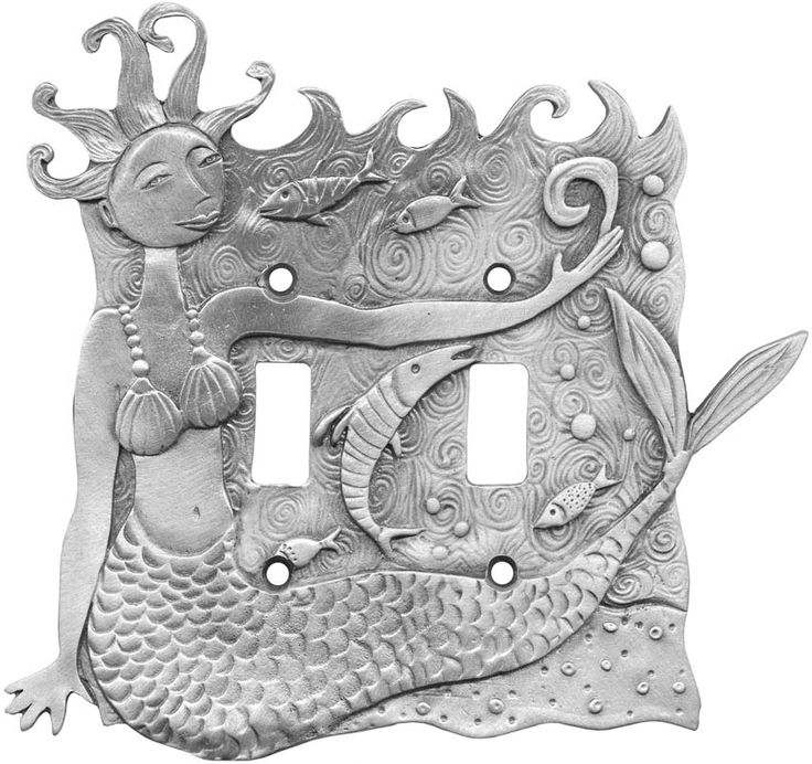 MERMAID and the SEA Switch Plates, Outlet Covers & Rocker Switchplates