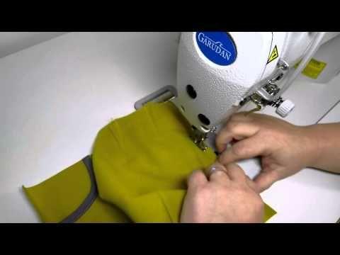 Online kurz šití - kalhoty ze softshellu - začínáme šít - 7.část - YouTube