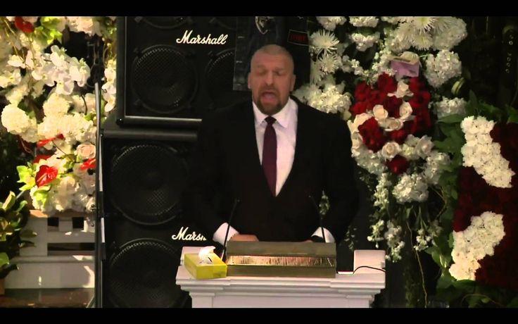 WWE legend's speech at Lemmy's funeral // Metal & Wrestling