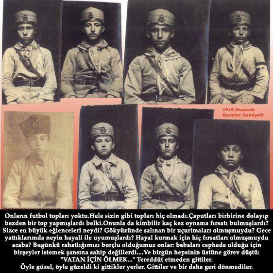 çanakkaledeki savaşan çocuk askerler
