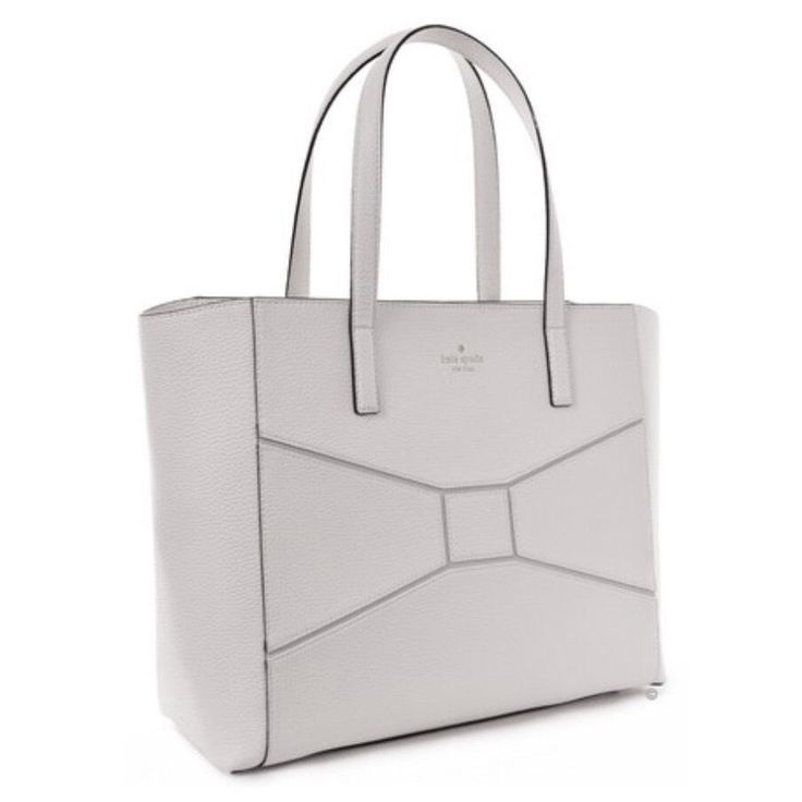 Kate Spade Francisca Bridge Place Large Cream Tote Bag. Get one of the hottest styles of the season! The Kate Spade Francisca Bridge Place Large Cream Tote Bag is a top 10 member favorite on Tradesy. Save on yours before they're sold out!