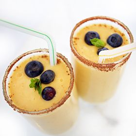 Mango Banana Smoothie, a recipe from the ATCO Blue Flame Kitchen.