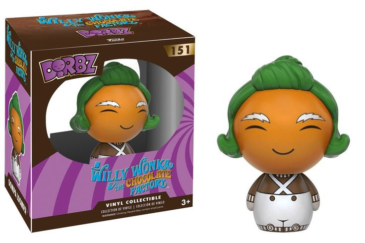 DORBZ: Willy Wonka - Oompa Loompa