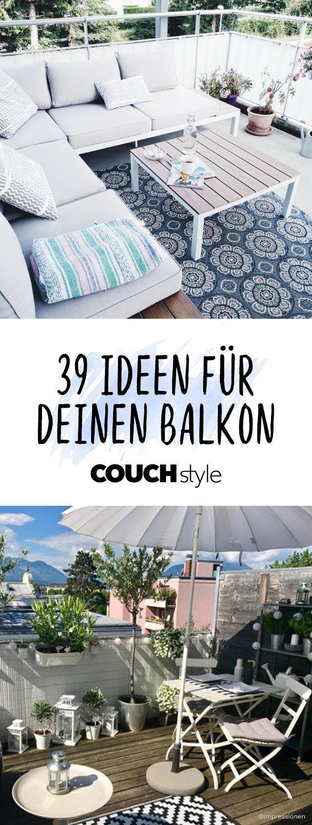 Balkon Dekorieren: Wir Zeigen Dir Die Schönsten Balkonmöbel Und  Einrichtungsideen Für Dein Outdoor Wohnzimmer