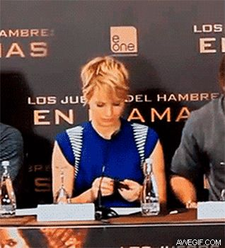 This gif of Jennifer Lawrence spilling mints is everything-- I haven't stopped laughing!