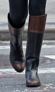 Chanel two tone riding boots I LOVE YOU