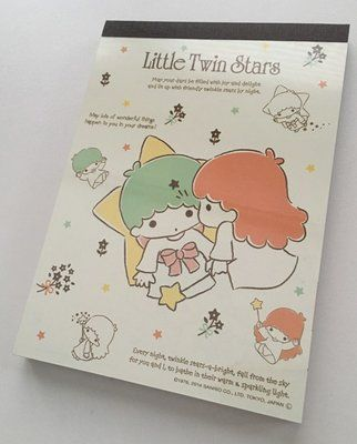 Sanrio Little Twin Stars Large Memo Pad