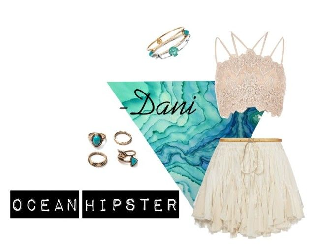 """Ocean Hipster"" by danniyellington on Polyvore featuring River Island, Ashley Pittman, Disney, Yves Saint Laurent and Hipster"