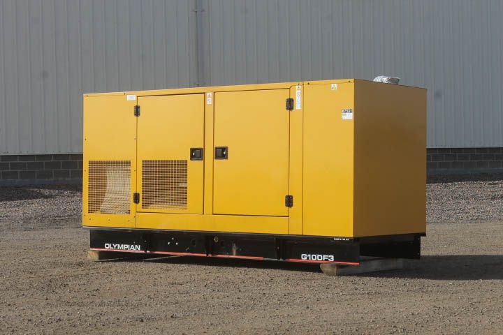 For Sale! Unit #87531 Caterpillar 100 kW Standby Natural Gas Generator Set. Model G100F3, Year 2005, 5 hours run since new, 208 Volt, 3 Phase, Auto Start/Stop, Safety Shut Down, 12 Volt Alternator, Dry Pack Air Cleaner, 400 Amp Circuit Breaker, Tank Type Block Heater, Analog Engine and Generator Control Panel. Call for more info! (800)853-2073 http://www.dieselserviceandsupply.com/Used-Generators/Olympian-100-OLY00000ANFC02674.aspx