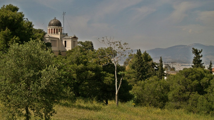 National Observatory of Athens and its beautiful surroundings of Philopappos. (Walking Athens, Route 07 - Philopappos Hill)