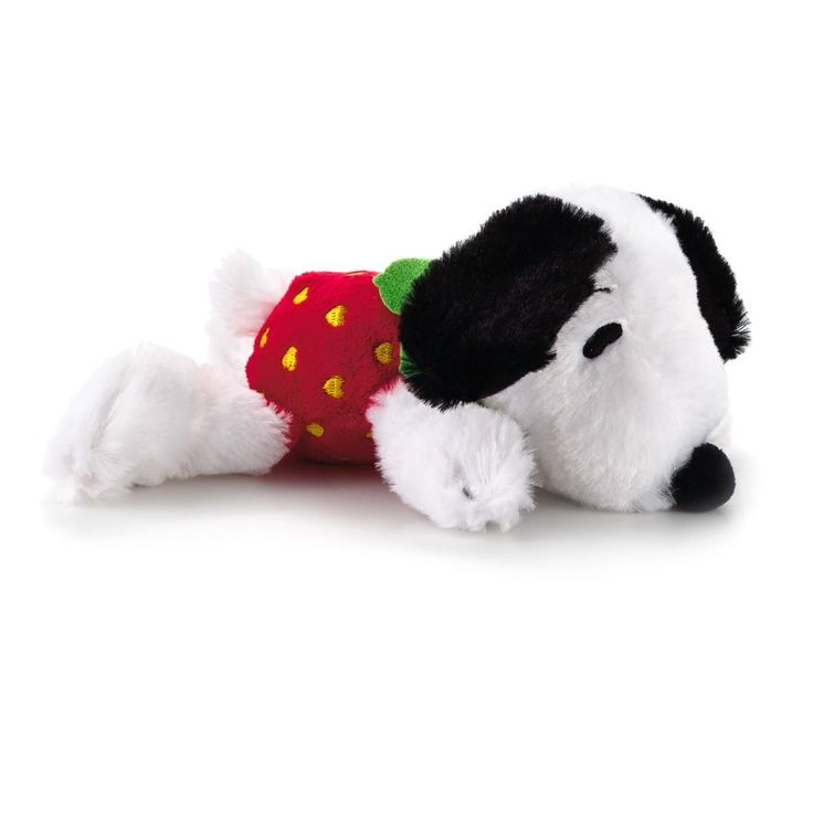 Berry Sweet Floppy Snoopy Stuffed Animal