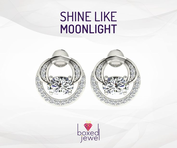 Their simplicity makes them the best evening wear. #Shine #Style #Gif #Earrings #Gift