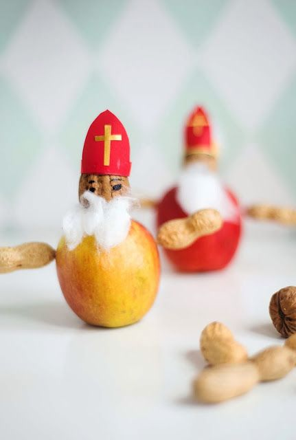 Wiener Wohnsinn: healthy Nikolaus DIY { and a Book Give Away }