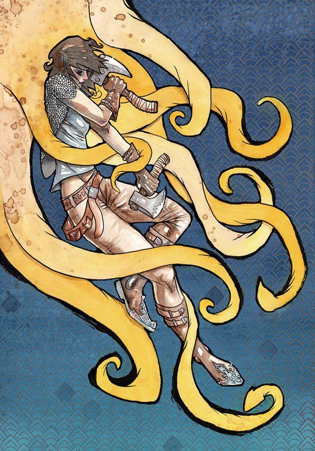 Daughter of the Kraken by Cody Vrosh