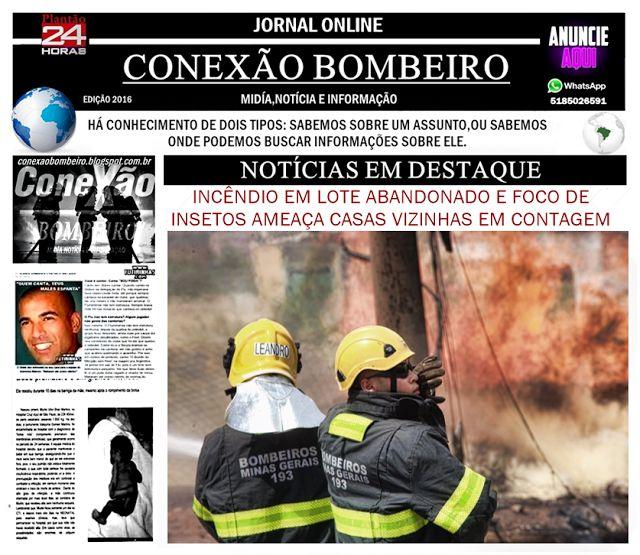 CONEXÃO BOMBEIRO : INCÊNDIO EM LOTE ABANDONADO E FOCO DE INSETOS AMEA...