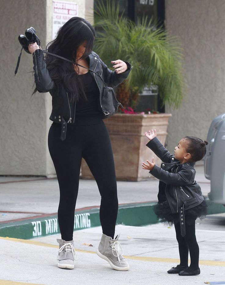 Kim and North, such a sweet photo, love them