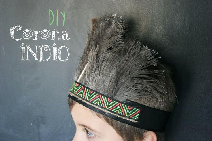 DIY: Corona de indio | Decorar en familia | DEF Deco