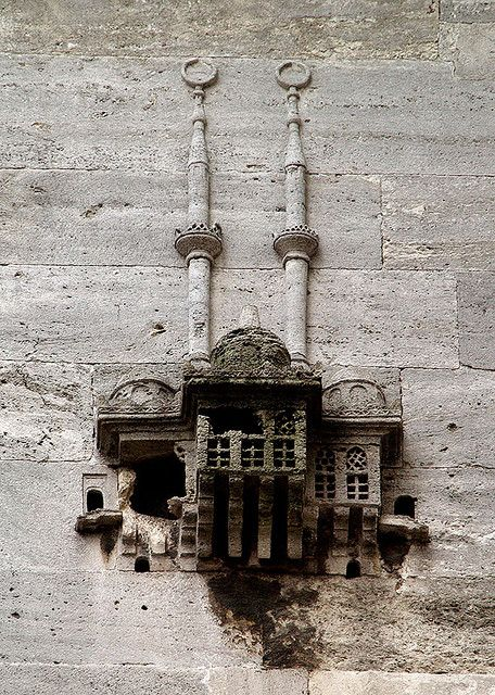 A bird shelter I Abdulhalil Pasa Tomb,Istanbul