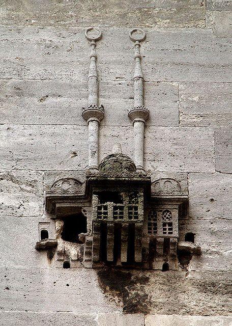 A bird shelter I Abdulhalil Pasa Tomb,Istanbul
