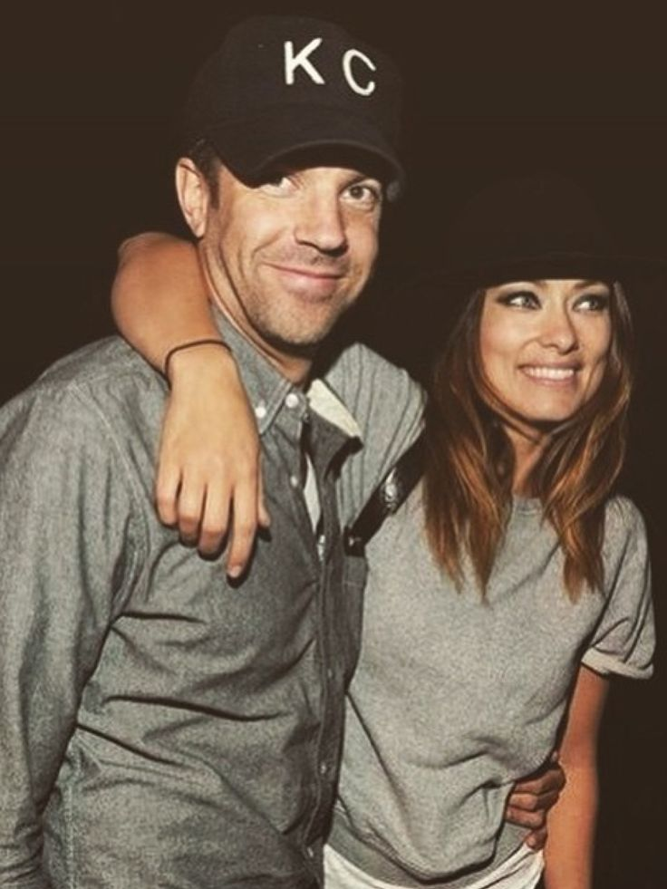 Jason Sudeikis and Olivia Wilde//