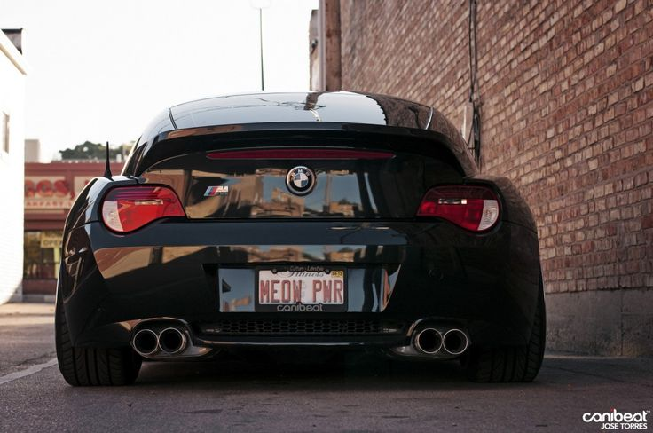 Bmw Z4 M Coupe Black Rear Stance Bmw Roadsters Amp Coupes