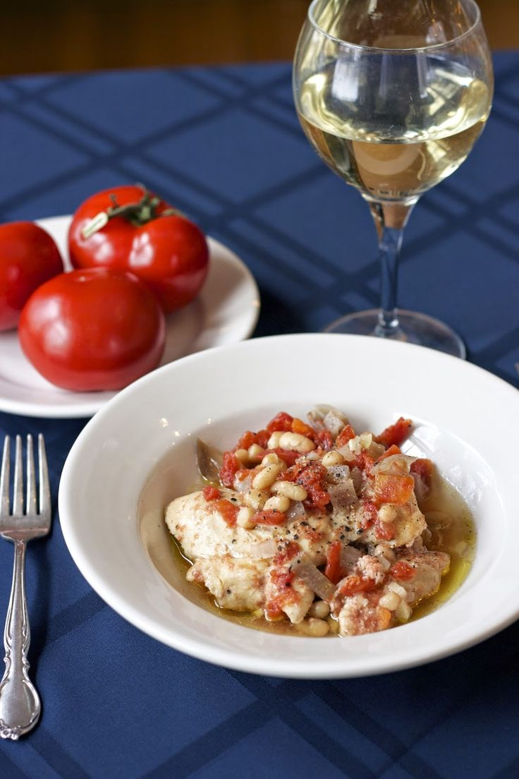 Millet with Thyme-Scented Chicken and White Beans- simplelivingeating.com http://www.simplelivingeating.com/2014/05/leeks-vinaigrette-with-mimosa-french.html #chicken recipes, #stews #bob's red mill