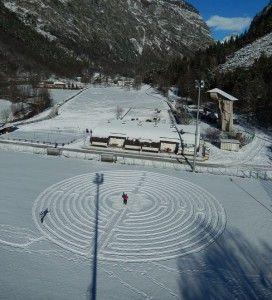Il Grande Labirinto, Gian Mario e Eric Navillod, Chamois, Valle d'Aosta, 2016.