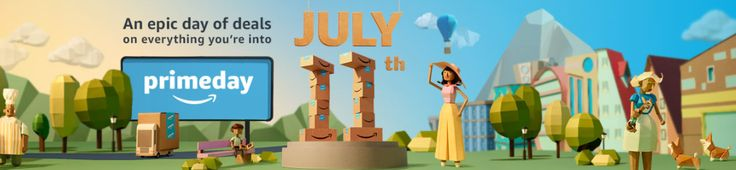 Amazon Prime Day best deals. Amazon Prime Day is here tomorrow!!! It is one of the biggest sale days of the year! There are a lot of deals that you won't want to miss. Here I'll list the reasons why you should shop Amazon Prime! Best deals, why I love amazon, gifting.