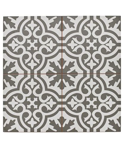 Berkeley™ Charcoal Tile cloakroom flooring ideas love these tiles
