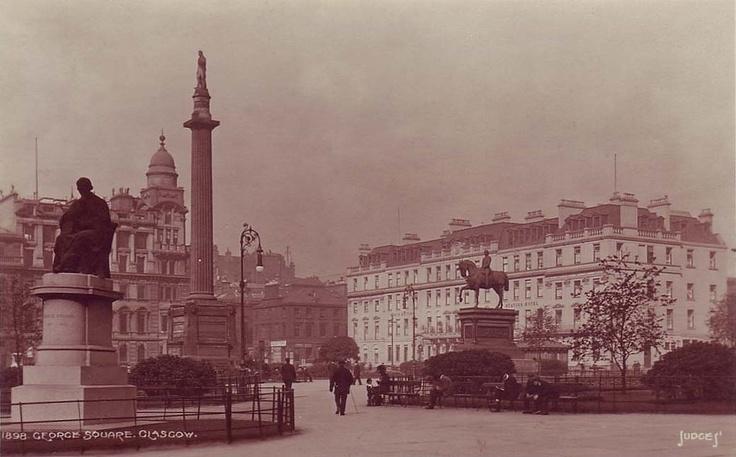 George Square 1898 #glasgow #history #heritage