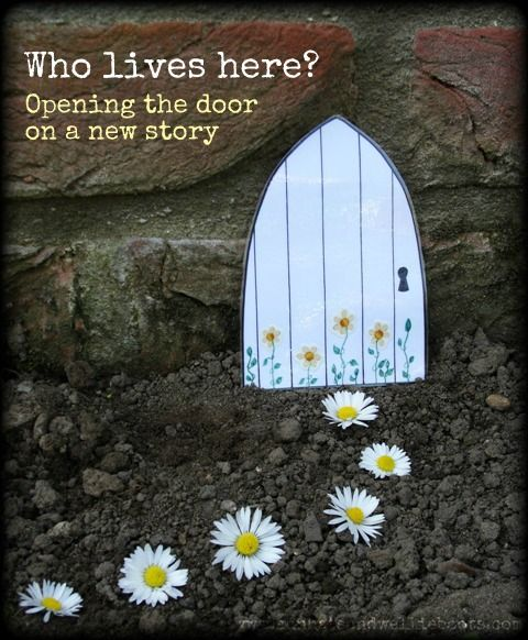 Opening the Door on a Story. Ideal for prompting imaginative play & storytelling.