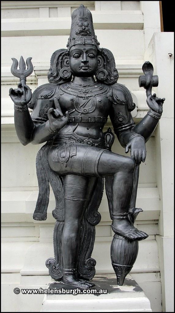 Helensburgh Temple - Hindu Temple - Sri Venkateswara Temple.  Statue