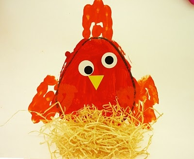 33 best preschool farm chickens images on pinterest for Henny and paint
