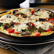 WeightWatchers.co.uk: Weight Watchers recipe - Pizza Omelette... 8 pro points