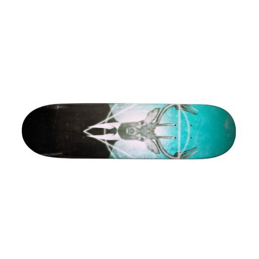 Stag in suit skate boards #skateboard #stag #hipster