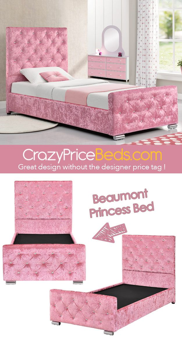 5646262f52b Beaumont Single Princess Bed from crazypricebeds.com. Just £199.99! Fast