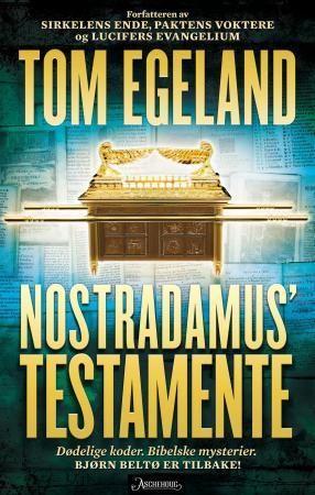 """Nostradamus' testamente"" av Tom Egeland"