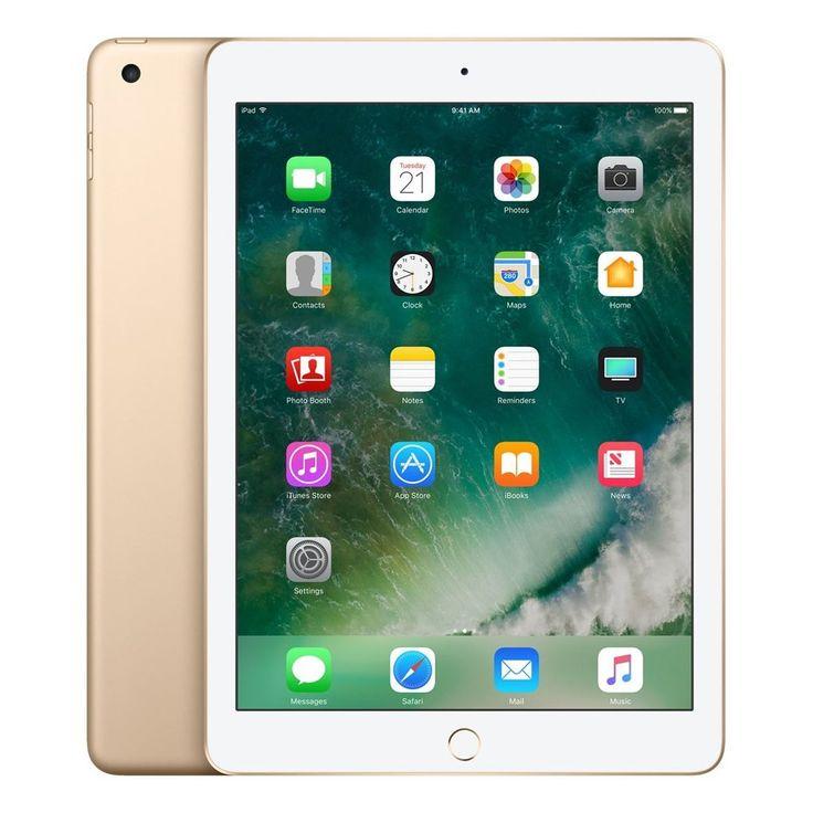 Apple iPad Wifi (Nouvel iPad–dernier Modèle–2017) (Remplace iPad Air 2) 32 go doré. Tout nouveau iPad-dernier modèle-2017. Remplace l'iPad Air 2. 24,6cm Retina Display a le détail