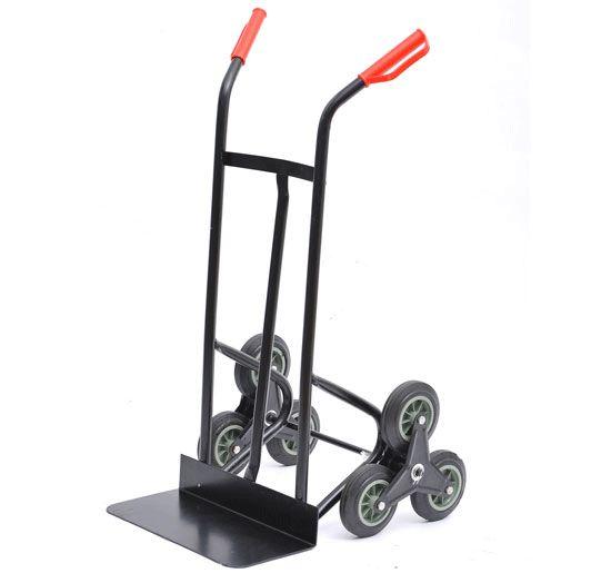 Chariot pour escalier diable transport six roues charges 150kg 107x52x63CM